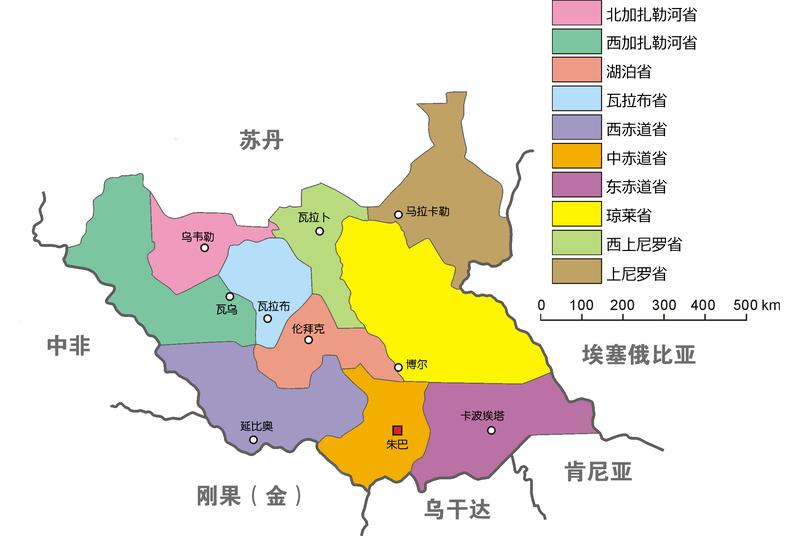 【非洲】南苏丹--最新国家_地图看世界山寨版