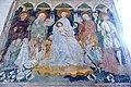 Zweinitz Pfarrkirche hl Egydius Chor S-Wand got Fresko Sacra Conversazione 22102014 569.jpg
