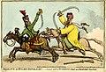"""Mamlouk, et hussard republicain"",- General result of Buonaparte's Attack upon Ibrahim Bey's Rear Guard. (BM 1851,0901.965).jpg"