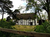 """Old Thatch"" near Brimpton and Crookham - geograph.org.uk - 10671.jpg"