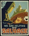 """""""WE ARE HELPING WITH SALVAGE"""" - NARA - 516063.tif"""