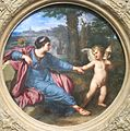 'Clytie and Cupid' by a follower of Annibale Carracci, Cincinnati.JPG