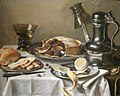 'Still-life (Ontbijtstuk with Berkemeyer)' by Pieter Claesz., Cincinnati.jpg