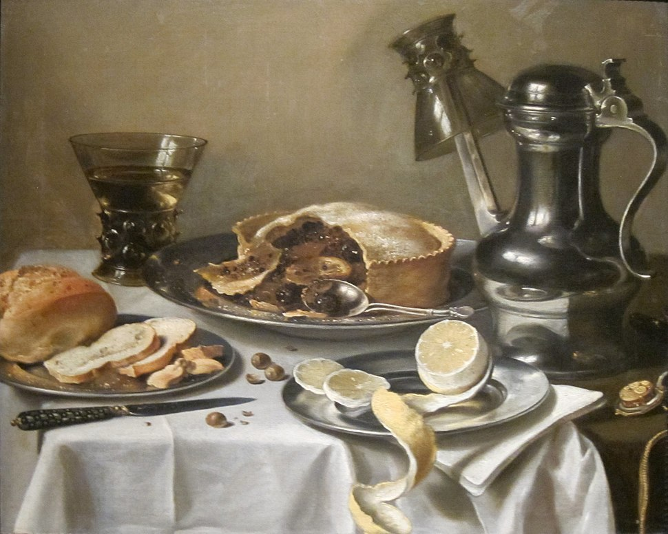 'Still-life (Ontbijtstuk with Berkemeyer)' by Pieter Claesz., Cincinnati