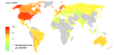 (B) Sexual assault rates per 100000 population 2010-2012, world.png