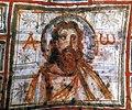 · Arte Paleocristiano · Pintura mural de Jesús Cristo · Catacumbas de Comodila, Roma · s. IV d. JC.jpg
