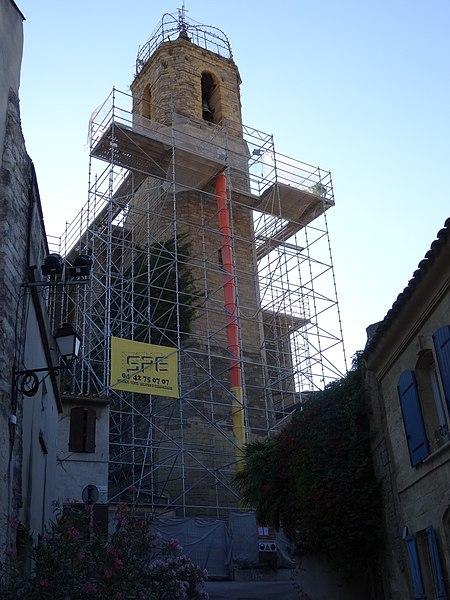 Église Notre-Dame-de-Beauvoir (Inscrit) Le clocher