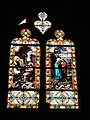 Église Saint-Georges de Chevrières (Oise) vitrail 07.JPG