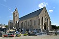 Église de la Sainte-Trinité de Créances. Vue nord-ouest.jpg