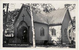 Østre Porsgrunn Church - Image: Østre Porsgrunn gravkappell