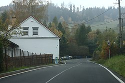 House by road