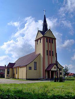 Żelistrzewo kościół