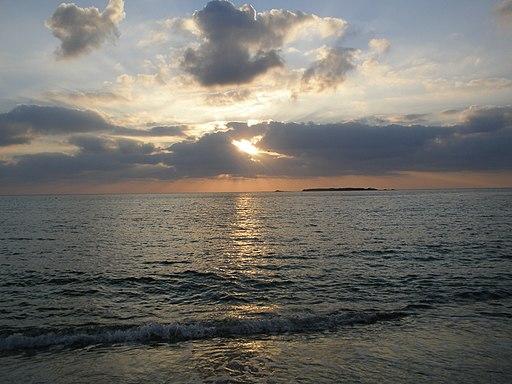 Φαλάσαρνα ηλιοβασίλεμα