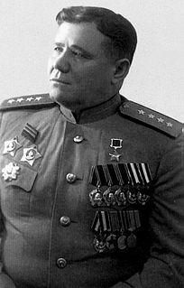 Andrey Yeryomenko Marshal of the Soviet Union