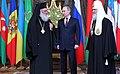Архиепископ Иеронимом II, Владимир Путин и патриарх Кирилл.jpeg