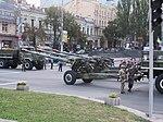 Гармата на Хрещатику під час тренувального маршу 22 серпня 2014 IMG 7654.JPG