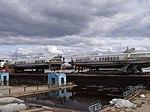 """Два """"Метеора"""" в порту Якутска на зимнем отстое.jpg"""