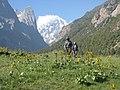 Научно-исследовательская геологическая экспедиция в горах Киргизии.JPG