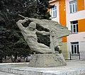 Памятник учителям и выпускникам школы № 1, погибшим в годы Великой Отечественной войны 1941-1945 гг, Челябинск.jpg