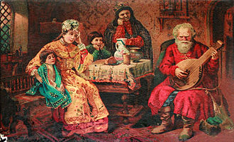 Folklore of Russia - Russia has a long and varied musical history