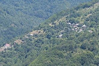 Ržanovo - Panoramic view of the village
