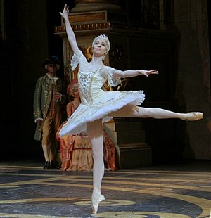 Ekaterina Krysanova - Ekaterina Krysanova in Sleeping Beauty ballet, Bolshoi Theater, 2004