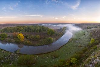 Lists of Nature Preserves of Ukraine - Kalmius Nature Preserve