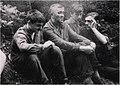 Сергей Иванович в окружении своих учеников в конце 60-х годов ХХ века..jpg