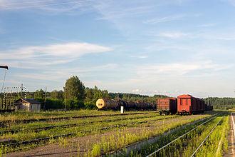 Toropets - Toropets railway station