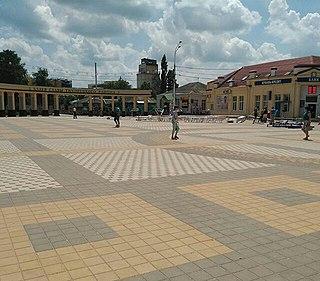 Tikhoretsk Town in Krasnodar Krai, Russia