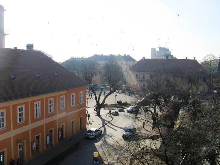 Трг св. тројства у Сомбору - St Trinity Square in Sombor