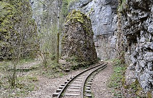 Mountain railway - Apsheronsk railway