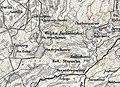 Хабарище на австрійській карті.jpg