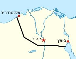 מסלול צינור הנפט סומד