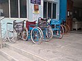 বনগাঁ সুপার স্পেশ্যালিটি হাসপাতালে হুইল চেয়ার Wheelchair of Emergency Department at Bangaon Super Speciality Hospital ২০২০-১১-১৮.jpg