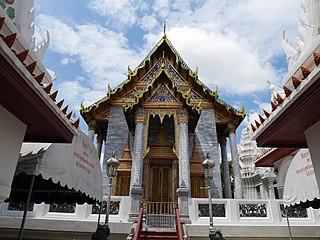 Wat Ratchapradit Buddhist temple in Bangkok, Thailand