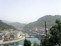 岚皋县城-岚河 - panoramio.jpg