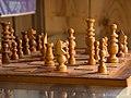 木彫りのチェス (Chess of wood carving) 30 Aug, 2014 - panoramio.jpg