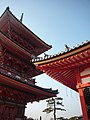 清水寺三重塔 Three-Story Pagoda, Kiyomizu-dera - panoramio.jpg
