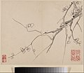清 李方膺 墨梅圖 冊-Album of Blossoming Plum MET DP211118.jpg