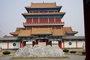 Luo Guanzhong - Luo Guanzhong Memorial, in Dongping County, Shandong