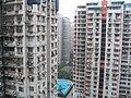 重庆加州花园游泳池和网球场小区内最小噪音43分贝 - panoramio.jpg