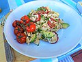 -2015-07-29 Chicken and Chorizo Risotto, Trimingham.JPG