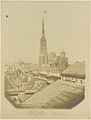 -View of the rooftops and cathedral of Vienna- MET DP112649.jpg