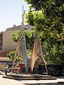 008 Monument als Països Catalans, d'Andreu Alfaro (pl. del Carme).jpg