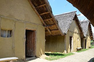 Bronze- and Iron-Age Poland -  Ottomány cottages c. 1650 BC, Trzcinica (2016)