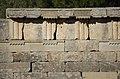 02 2020 Grecia photo Paolo Villa FO199994 (Olimpia parco archeologico - fregio di triglifi e metope di ordine dorico del Tempio di Era - - frieze of triglyphs and Doric order metopes from the Temple of Era).jpg