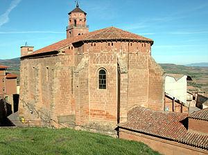 Ausejo - Santa María Church (16th-17th-18th Centuries).