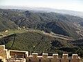 042 Ca n'Horta i Can Vilar des del castell de Montsoriu.jpg