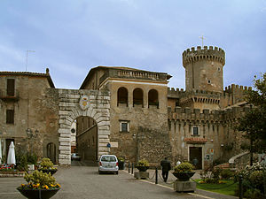 Fiano Romano - Ducal Orsini Castle.
